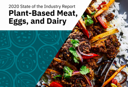 Plant-based state of the industry report