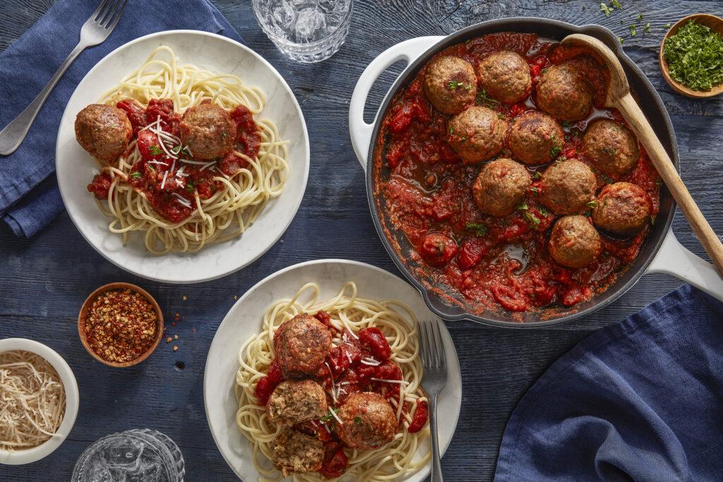 Beyond Meat plant-based meatballs