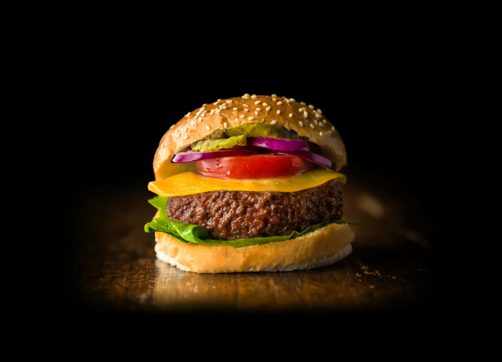 Mosa Meat cultivated beef burger
