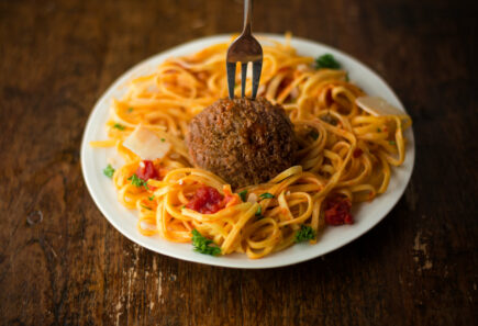 Mosa Meat cultivated meatball