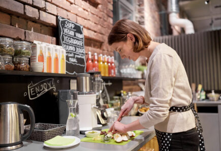 Plant-based cafe