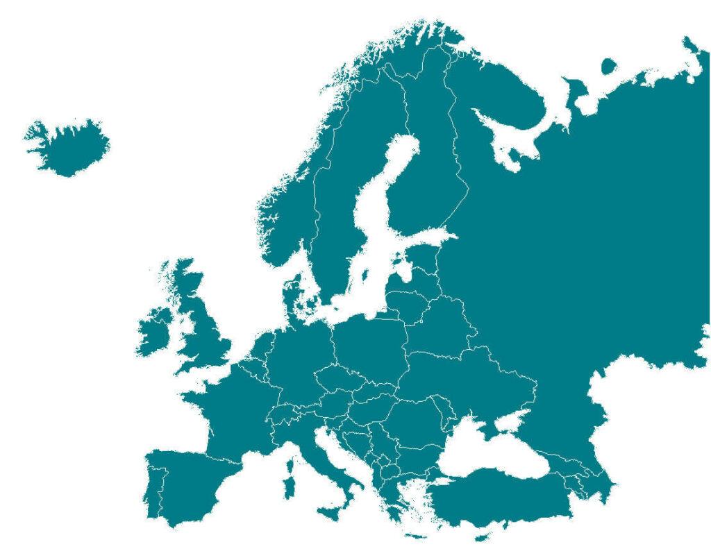 Good Food Institute Europe map